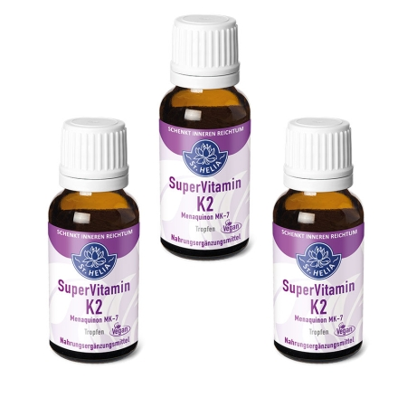 St. Helia Super Vitamin K2, drops, 3x 20 ml, vegan